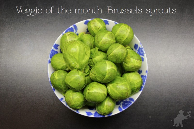 Brussels sprouts Veggie of the Month