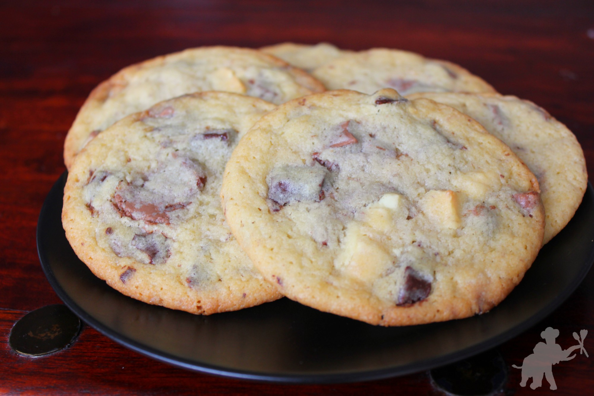 Triple Chocolate Chip Cookies 2