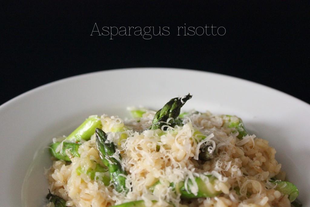 Asparagus risotto - Gourmet Elephant