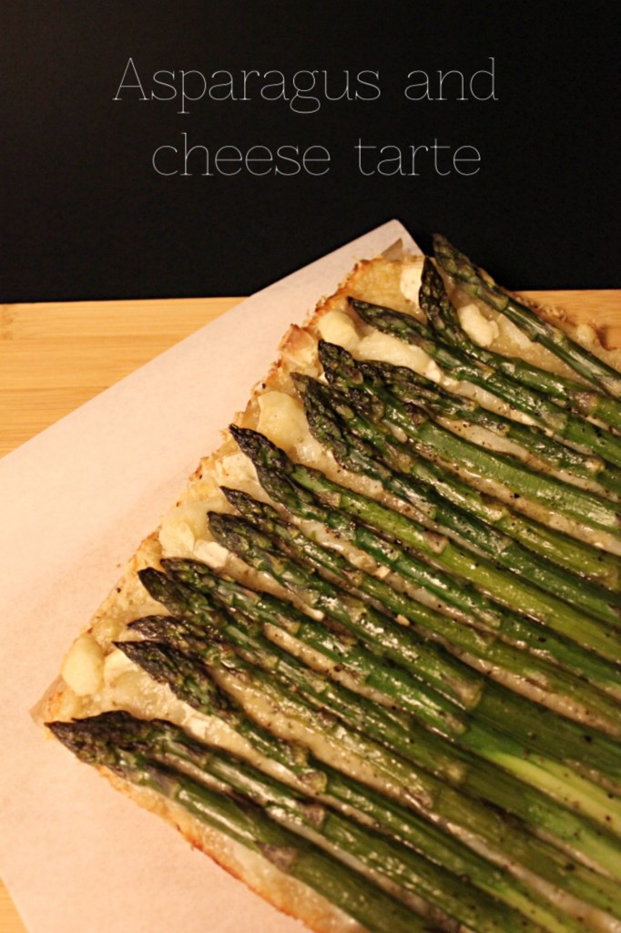 Asparagus and cheese tarte - Gourmet Elephant