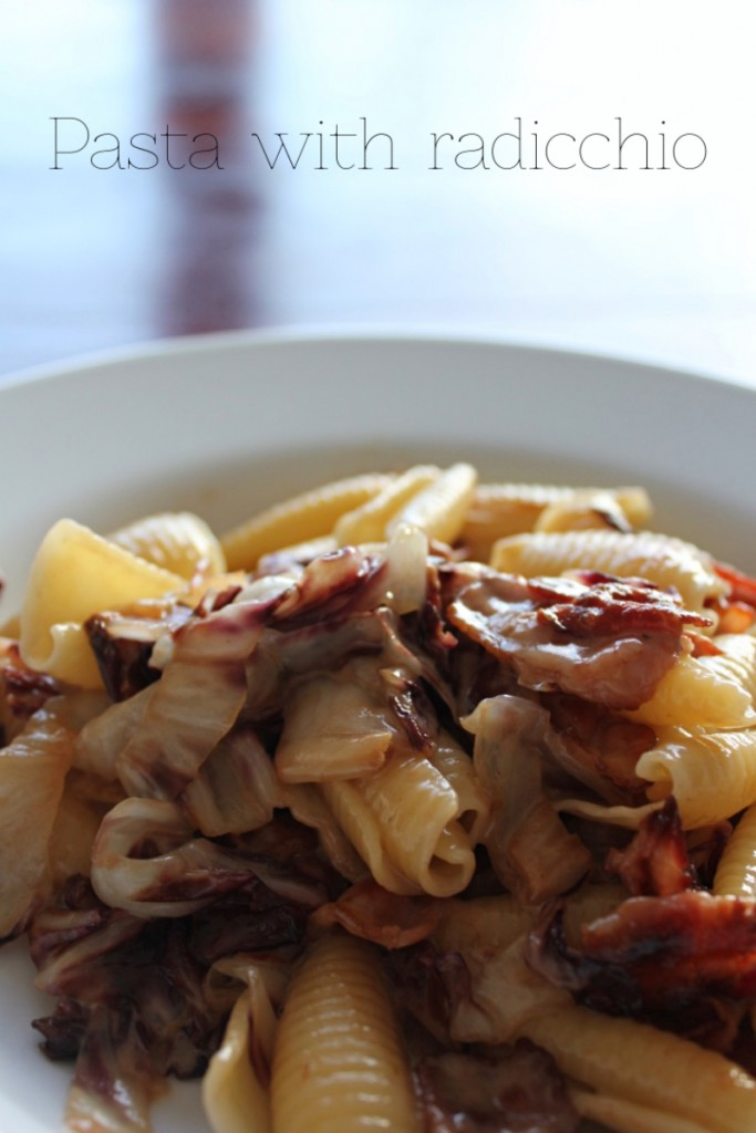 Pasta with radicchio - Gourmet Elephant
