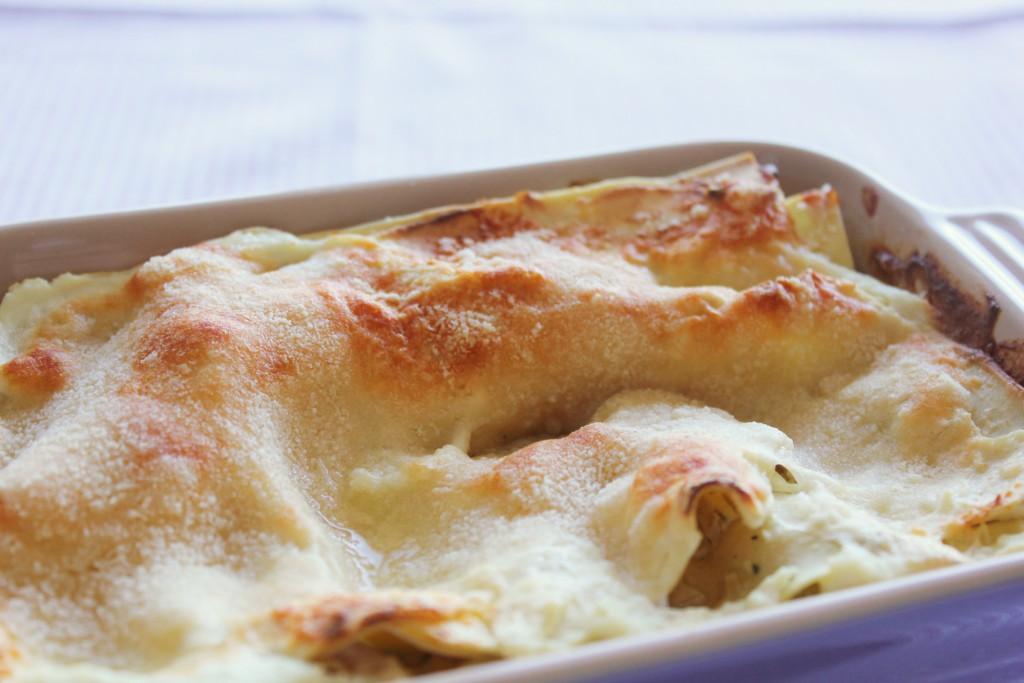 Fennel lasagna with ricotta - Gourmet Elephant