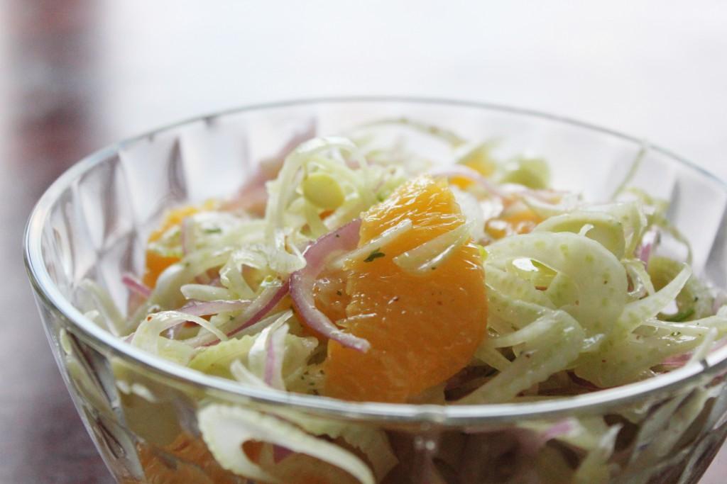 Fennel salad - Gourmet Elephant