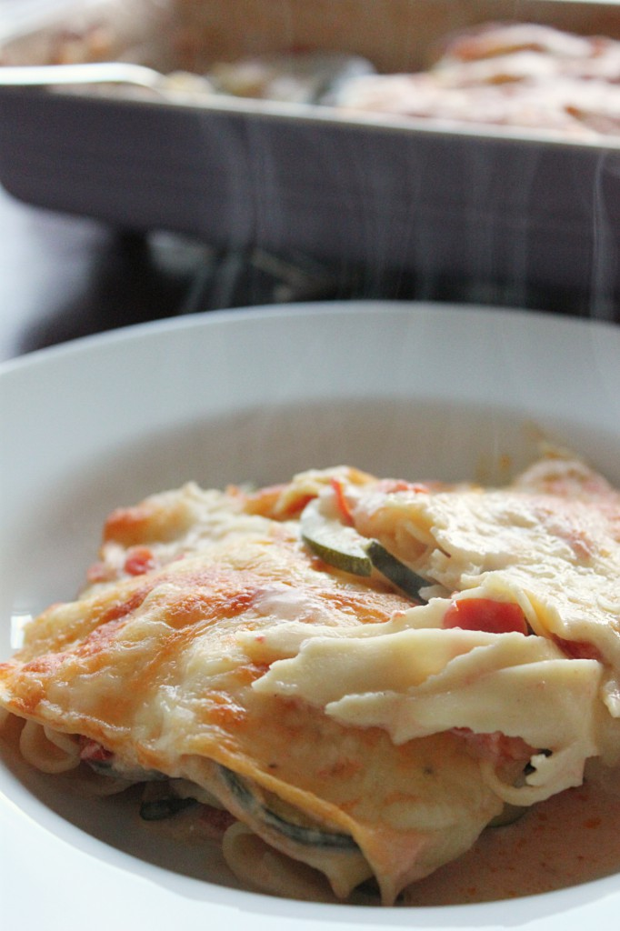 Zucchini-Lasagne - Gourmet Elephant